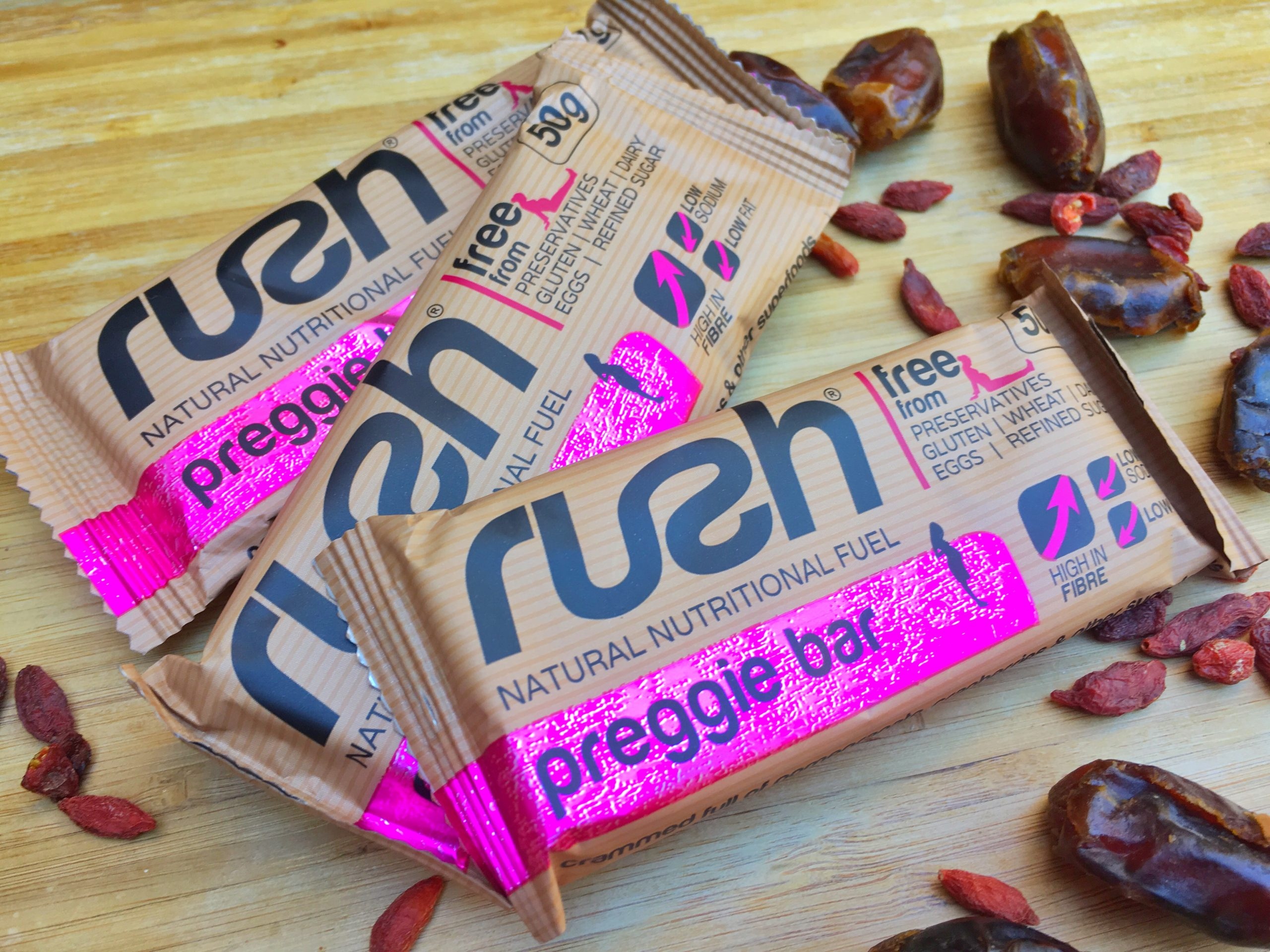 RUSH Preggie Bars – a healthy snack