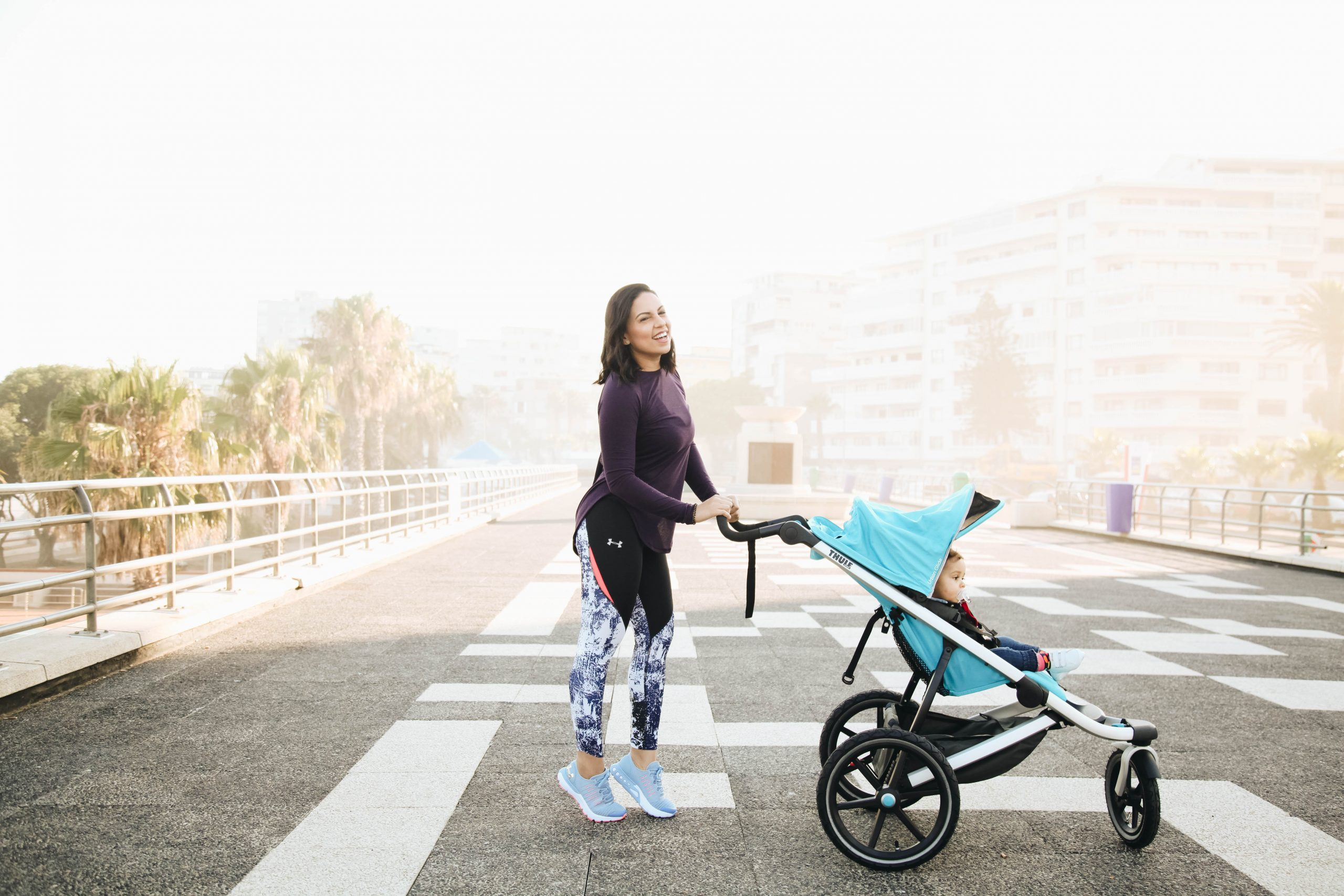 Rookie Mom: Active mom with the Thule Urban Glide