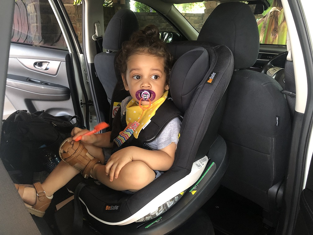 Rookie Mom: Why Esa is still rear-facing in his car seat