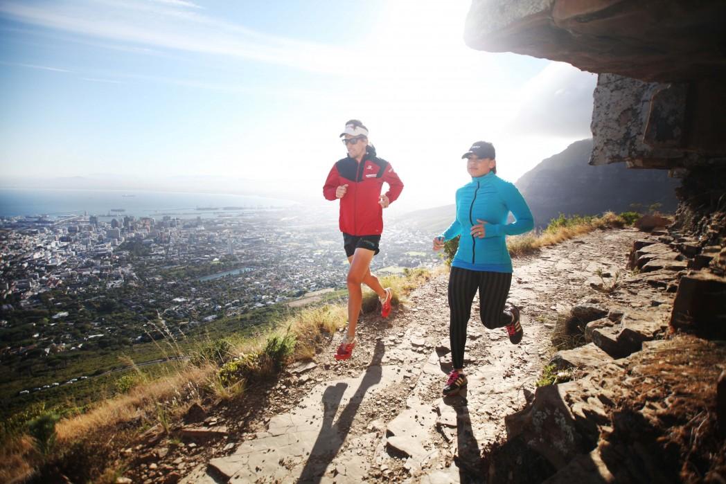 Running with Ryan Sandes