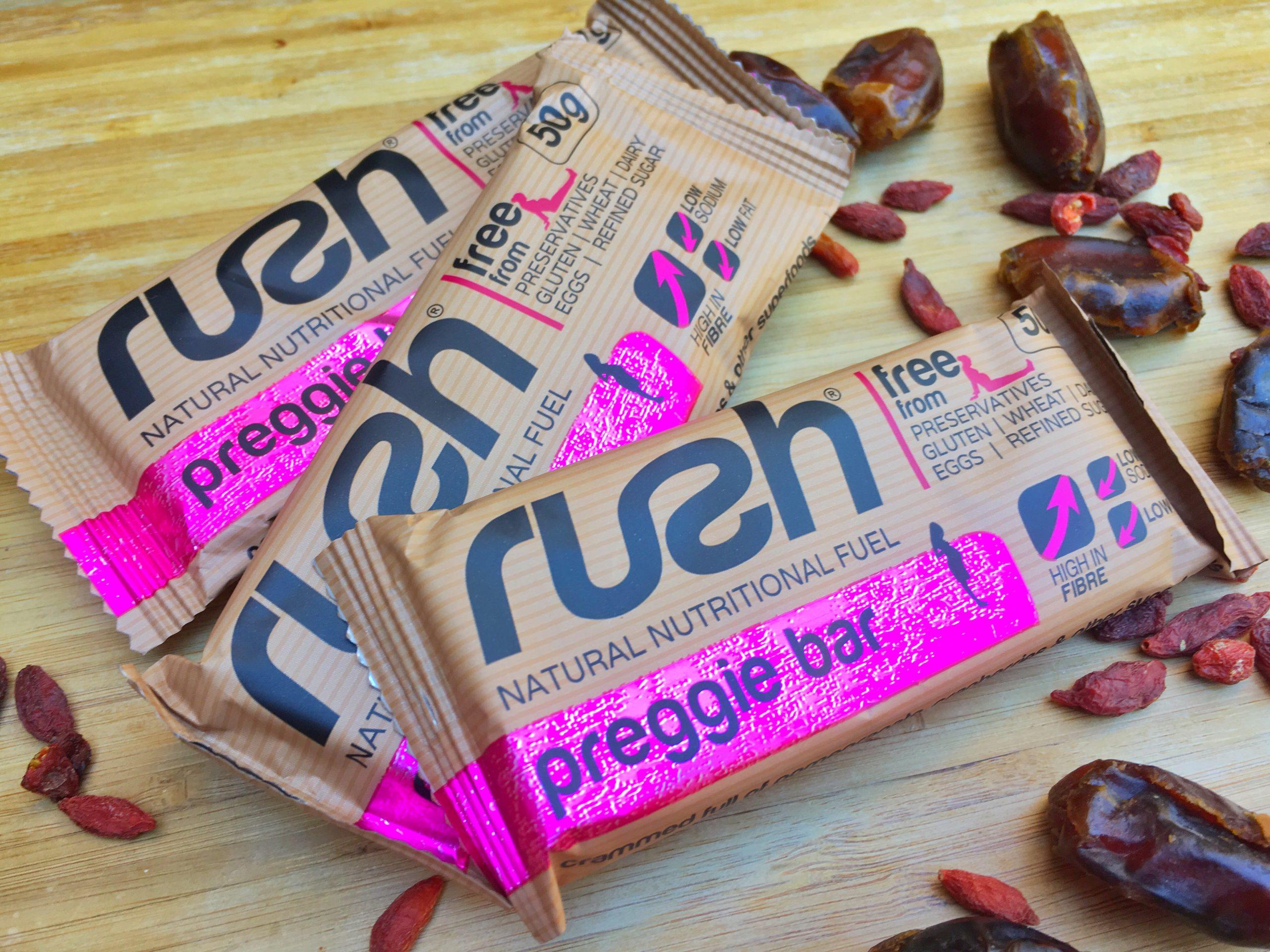 RUSH Preggie Bars – a healthy snack