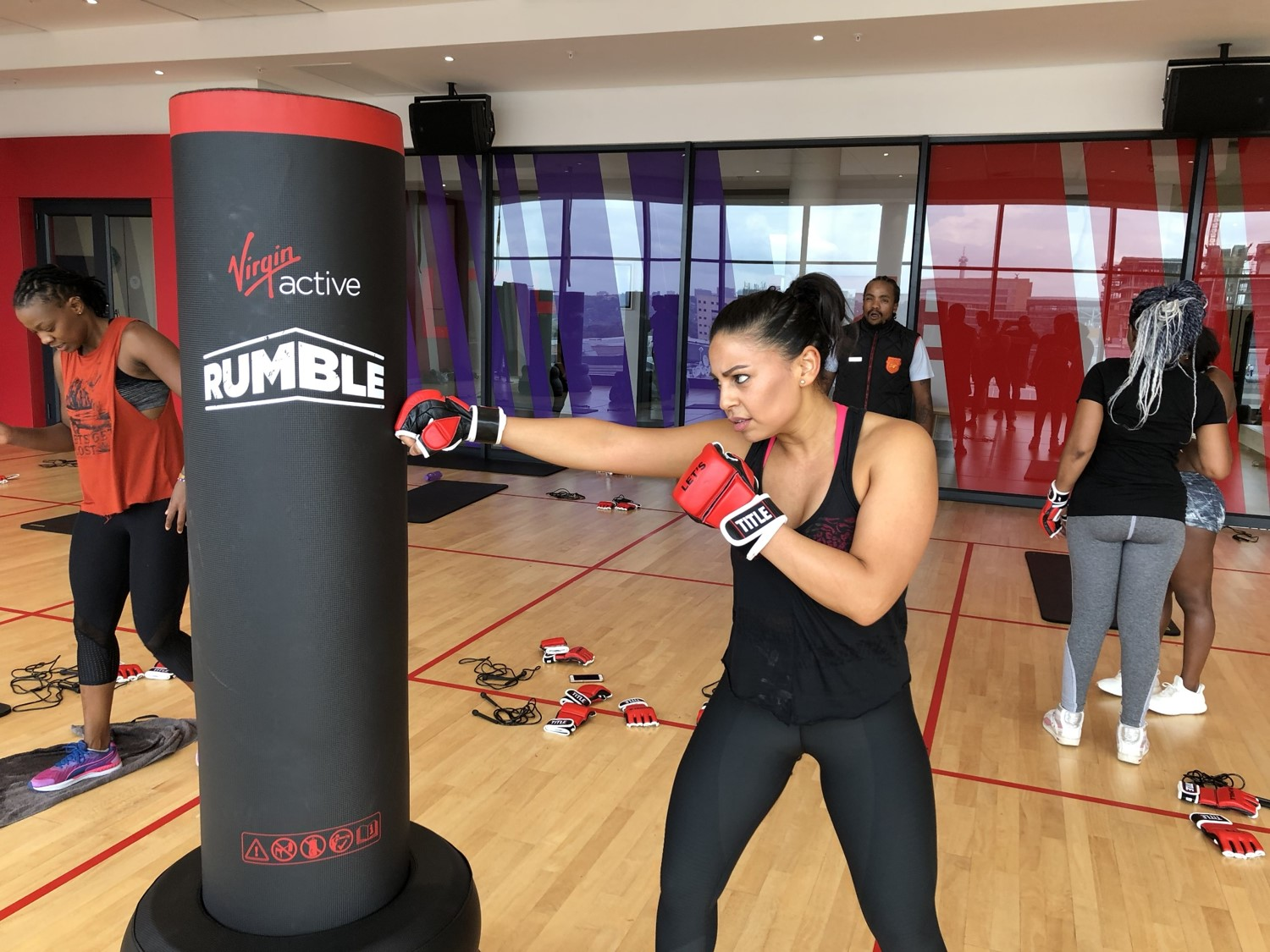 Gym Review: Virgin Active's new 'RUMBLE' class